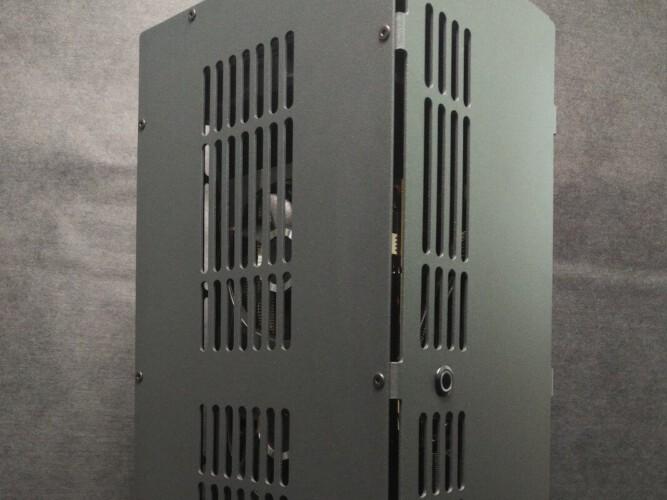 RCC-MID2 Vertical Computer Case